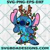 Merry Christmas Stitch SVG, Stitch Svg, Lilo And Stitch Svg, Cartoon Character Svg, Cricut, Digital Download