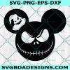 Mickey Oogie and Jack skellington SVG, Oogie and jack Svg, Nightmare Before Christmas svg, Halloween SVG, Cricut, Digital Download