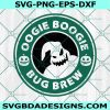 Oogie Boogie starbuck Svg, coffee logo svg, Oogie Boogie bug brew SVG, Nightmare Before Christmas SVG , Halloween SVG, Cricut, Digital Download