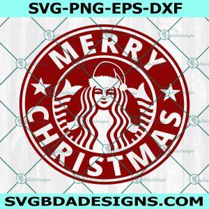 Starbucks Christmas Logo SVG, Merry Christmas Starbucks Svg, Christmas SVG, Starbucks Logo svg , Cricut, Digital Download