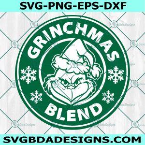 Starbucks Grinchmas SVG, Grinchmas Blend Coffee SVG, Mr Grinch Coffee lover Svg, Cricut, Digital Download
