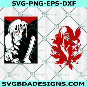 Itachi Uchiha Svg, Akatsuki SVG, Naruto Svg, Naruto Manga Svg,Manga Svg, Anime Movies Svg, Cricut, Digital Download